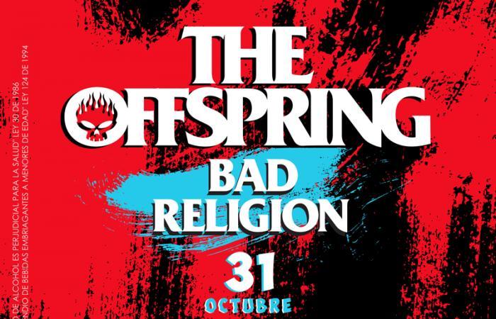 The Offspring y Bad Religion confirman fecha juntos en Chile